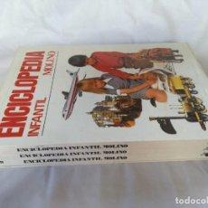 Libros de segunda mano: ENCICLOPEDIA INFANTIL MOLINO-3 VOL-EN ESTUCHE-MUY BUEN ESTADO-VER FOTOS. Lote 131068536