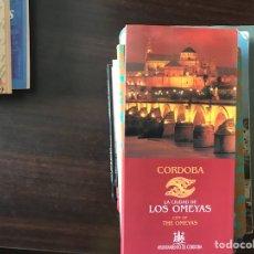 Libros de segunda mano: CÓRDOBA LA,CIUDAD DE LOS OMEYAS. TRES MAPAS DESPLEGABLES.. Lote 131086221