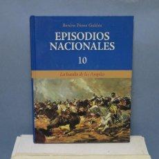 Libros de segunda mano: EPISODIOS NACIONALES. GALDOS. 10 TOMOS. ED. SAPE. Lote 131093168