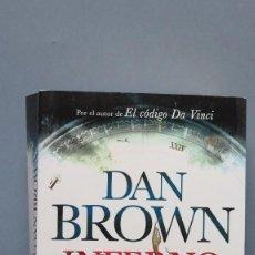 Libros de segunda mano: INFERNO. DAN BROWN. Lote 131093336