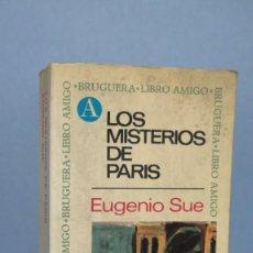 Libros de segunda mano: LOS MISTERIOS DE PARIS. EUGENIO SUE. Lote 131096992