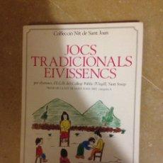 Libros de segunda mano: JOCS TRADICIONALS EIVISSENCS (COL.LECCIÓ NIT DE SANT JOAN). Lote 194689493