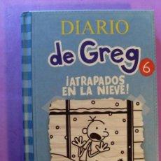 Libros de segunda mano: DIARIO DE GREG. 6 ¡ATRAPADOS EN LA NIEVE! / JEFF KINNEY / 2012. RBA. Lote 131135736