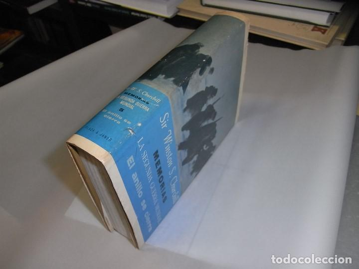 SIR WINSTON S.CHURCHILL, MEMORIAS, PLAZA JANES, TOMO 5 (Libros de Segunda Mano - Historia - Otros)