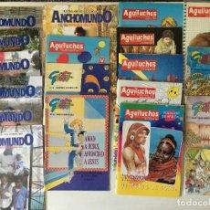 Libros de segunda mano: LOTE REVISTAS MISIONERA - AGUILUCHOS - GESTO - ANCHO MUNDO. Lote 131189828