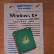 Libros de segunda mano: WINDOWS XP GUIA PRACTICA - ANAYA - MIGUEL PARDO NIEBLA. Lote 131207284