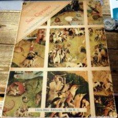 Libros de segunda mano: EL GRAN LIBRO DE SAN CIPRIANO CON INTERPRETACIÓN DE LOS SUEÑOS. LIBRO COMPLETO DE VERDADERA MAGIA. Lote 131228611