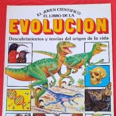 Libros de segunda mano: PLESA EL JOVEN CIENTÍFICO - EL LIBRO DE LA EVOLUCIÓN. Lote 131304695