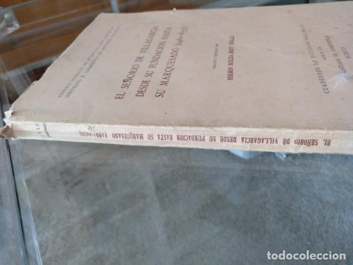 Libros de segunda mano: EL SEÑORÍO DE VILLAGARCÍA DESDE SU FUNDACIÓN HASTA SU MARQUESADO 1461-1655 POR F. BOUZA-BREY TRILLO - Foto 2 - 131328930