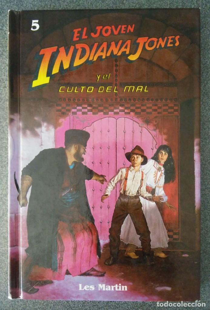 EL JOVEN INDIANA JONES Y EL CULTO DEL MAL (Libros de Segunda Mano - Literatura Infantil y Juvenil - Otros)
