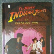 Libros de segunda mano: EL JOVEN INDIANA JONES Y EL CULTO DEL MAL. Lote 131409626