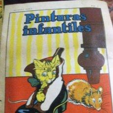 Libros de segunda mano: PINTURAS INFANTILES . CUENTO PARA COLOREAR 1ERA SERIE Nº 2 . ED CALLEJA 1940. Lote 131420938
