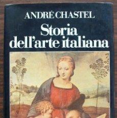 Libros de segunda mano: STORIA DELL´ARTE ITALIANA. ANDRE CHASTEL. 1986 ( VOL. I ). Lote 131421926