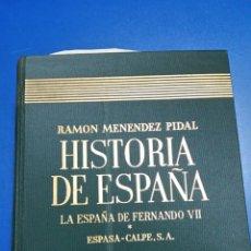 Libros de segunda mano: HISTORIA DE ESPAÑA. RAMON MENENDEZ PIDAL. TOMO XXVI. Lote 131439670