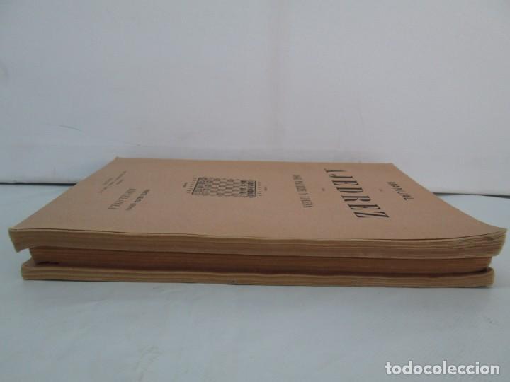 Libros de segunda mano: MANUAL DE AJEDREZ. JOSE PALUZIE Y LUCENA. PARTE TERCERA, QUINTA, SEXTA. 1939-1943. VER FOTOS - Foto 4 - 131478270