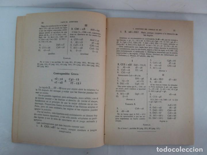 Libros de segunda mano: MANUAL DE AJEDREZ. JOSE PALUZIE Y LUCENA. PARTE TERCERA, QUINTA, SEXTA. 1939-1943. VER FOTOS - Foto 11 - 131478270