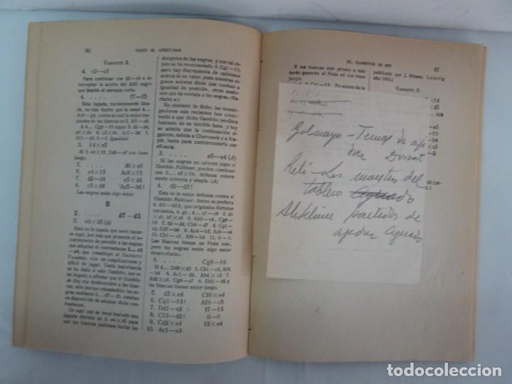 Libros de segunda mano: MANUAL DE AJEDREZ. JOSE PALUZIE Y LUCENA. PARTE TERCERA, QUINTA, SEXTA. 1939-1943. VER FOTOS - Foto 13 - 131478270