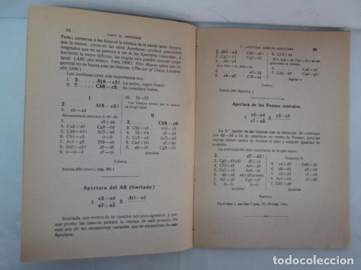 Libros de segunda mano: MANUAL DE AJEDREZ. JOSE PALUZIE Y LUCENA. PARTE TERCERA, QUINTA, SEXTA. 1939-1943. VER FOTOS - Foto 14 - 131478270