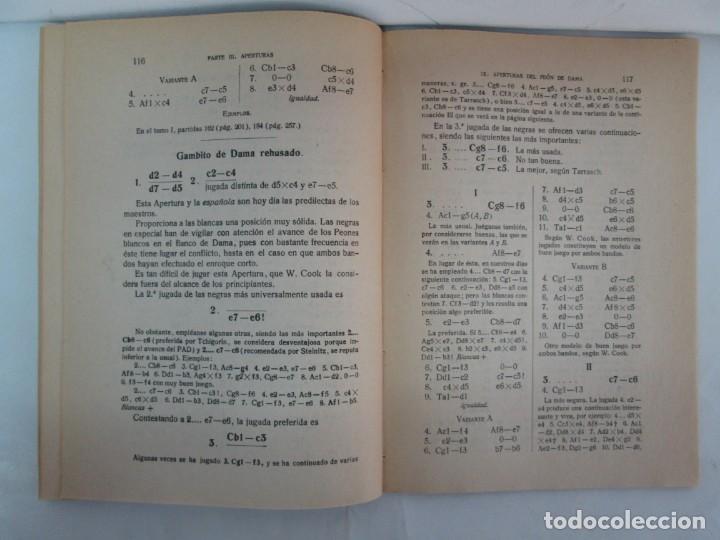 Libros de segunda mano: MANUAL DE AJEDREZ. JOSE PALUZIE Y LUCENA. PARTE TERCERA, QUINTA, SEXTA. 1939-1943. VER FOTOS - Foto 15 - 131478270