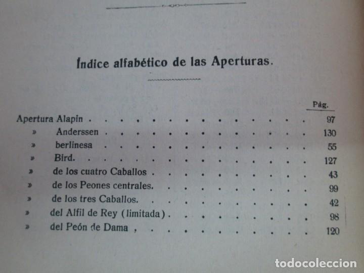 Libros de segunda mano: MANUAL DE AJEDREZ. JOSE PALUZIE Y LUCENA. PARTE TERCERA, QUINTA, SEXTA. 1939-1943. VER FOTOS - Foto 19 - 131478270