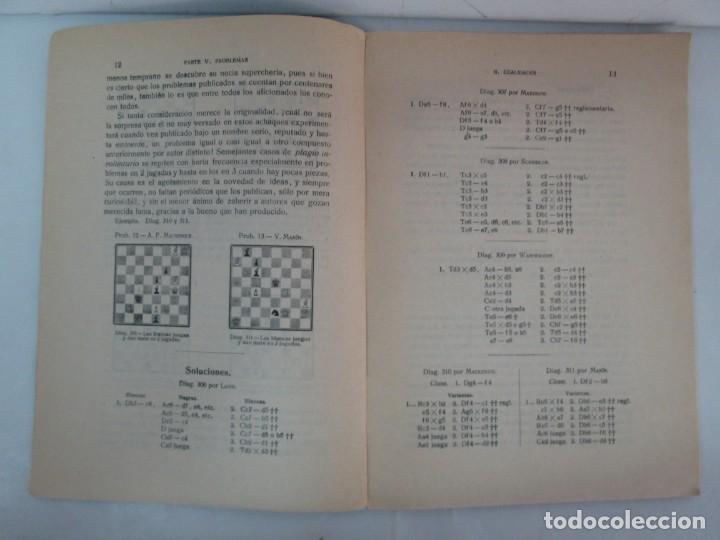 Libros de segunda mano: MANUAL DE AJEDREZ. JOSE PALUZIE Y LUCENA. PARTE TERCERA, QUINTA, SEXTA. 1939-1943. VER FOTOS - Foto 27 - 131478270