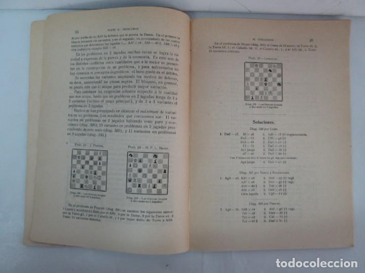 Libros de segunda mano: MANUAL DE AJEDREZ. JOSE PALUZIE Y LUCENA. PARTE TERCERA, QUINTA, SEXTA. 1939-1943. VER FOTOS - Foto 28 - 131478270