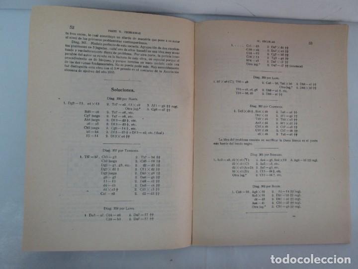 Libros de segunda mano: MANUAL DE AJEDREZ. JOSE PALUZIE Y LUCENA. PARTE TERCERA, QUINTA, SEXTA. 1939-1943. VER FOTOS - Foto 30 - 131478270