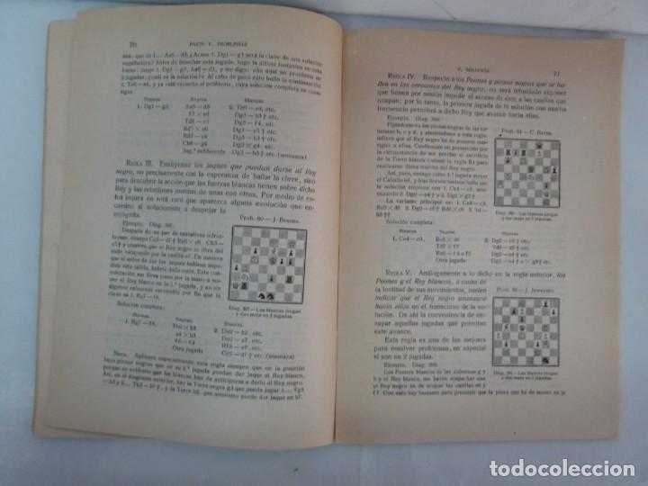 Libros de segunda mano: MANUAL DE AJEDREZ. JOSE PALUZIE Y LUCENA. PARTE TERCERA, QUINTA, SEXTA. 1939-1943. VER FOTOS - Foto 31 - 131478270