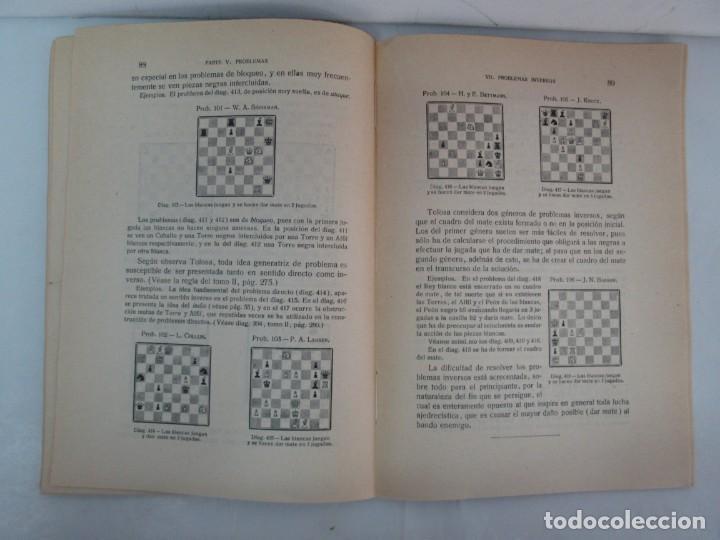 Libros de segunda mano: MANUAL DE AJEDREZ. JOSE PALUZIE Y LUCENA. PARTE TERCERA, QUINTA, SEXTA. 1939-1943. VER FOTOS - Foto 32 - 131478270