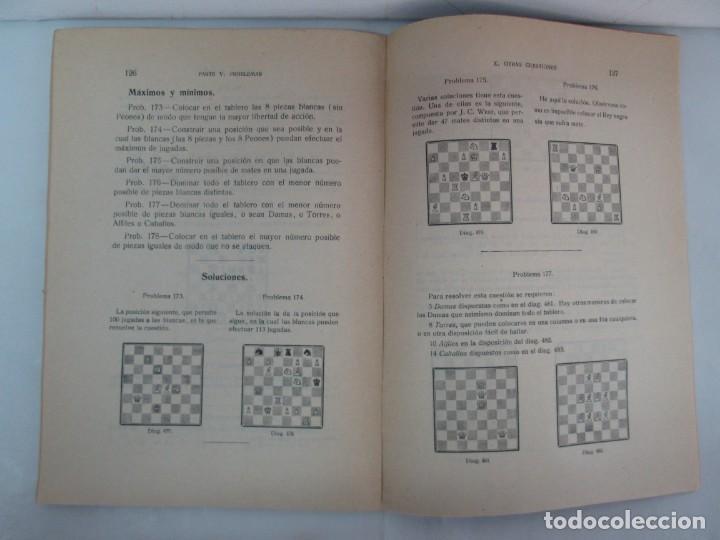 Libros de segunda mano: MANUAL DE AJEDREZ. JOSE PALUZIE Y LUCENA. PARTE TERCERA, QUINTA, SEXTA. 1939-1943. VER FOTOS - Foto 34 - 131478270