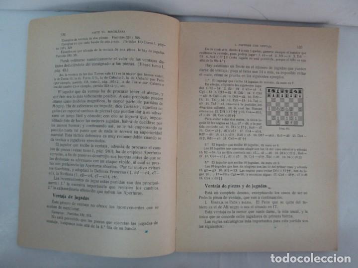 Libros de segunda mano: MANUAL DE AJEDREZ. JOSE PALUZIE Y LUCENA. PARTE TERCERA, QUINTA, SEXTA. 1939-1943. VER FOTOS - Foto 37 - 131478270