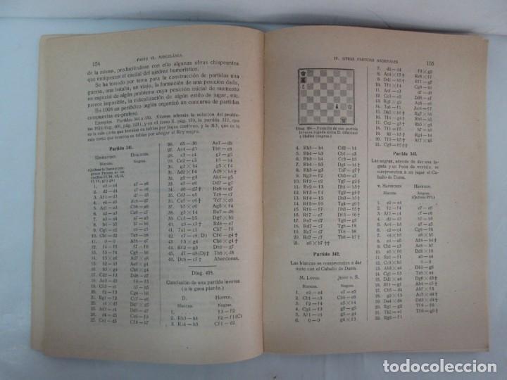 Libros de segunda mano: MANUAL DE AJEDREZ. JOSE PALUZIE Y LUCENA. PARTE TERCERA, QUINTA, SEXTA. 1939-1943. VER FOTOS - Foto 38 - 131478270
