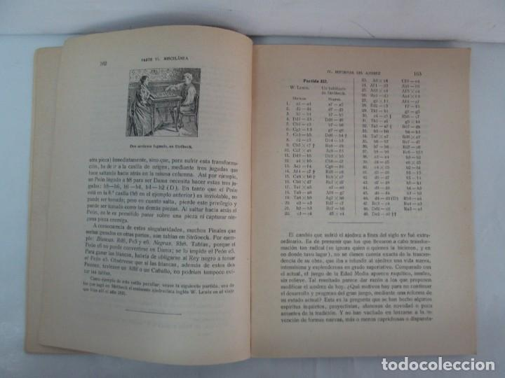 Libros de segunda mano: MANUAL DE AJEDREZ. JOSE PALUZIE Y LUCENA. PARTE TERCERA, QUINTA, SEXTA. 1939-1943. VER FOTOS - Foto 39 - 131478270
