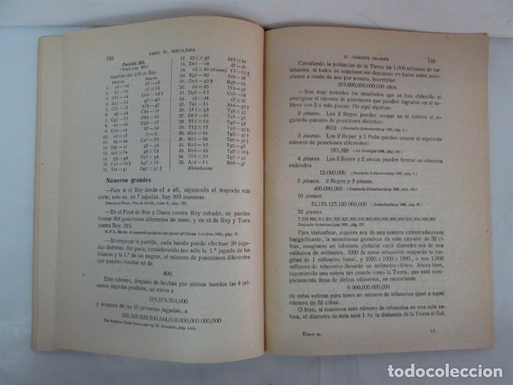 Libros de segunda mano: MANUAL DE AJEDREZ. JOSE PALUZIE Y LUCENA. PARTE TERCERA, QUINTA, SEXTA. 1939-1943. VER FOTOS - Foto 40 - 131478270