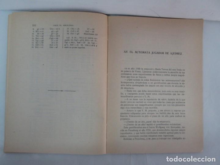 Libros de segunda mano: MANUAL DE AJEDREZ. JOSE PALUZIE Y LUCENA. PARTE TERCERA, QUINTA, SEXTA. 1939-1943. VER FOTOS - Foto 41 - 131478270