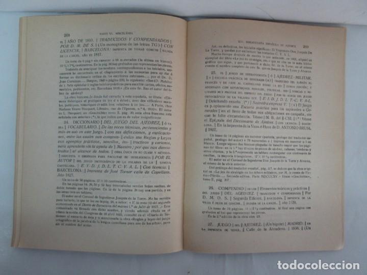 Libros de segunda mano: MANUAL DE AJEDREZ. JOSE PALUZIE Y LUCENA. PARTE TERCERA, QUINTA, SEXTA. 1939-1943. VER FOTOS - Foto 44 - 131478270