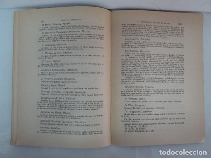 Libros de segunda mano: MANUAL DE AJEDREZ. JOSE PALUZIE Y LUCENA. PARTE TERCERA, QUINTA, SEXTA. 1939-1943. VER FOTOS - Foto 46 - 131478270