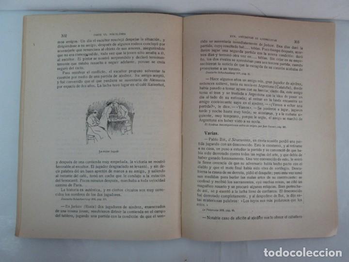 Libros de segunda mano: MANUAL DE AJEDREZ. JOSE PALUZIE Y LUCENA. PARTE TERCERA, QUINTA, SEXTA. 1939-1943. VER FOTOS - Foto 47 - 131478270