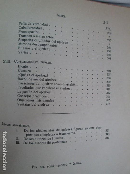 Libros de segunda mano: MANUAL DE AJEDREZ. JOSE PALUZIE Y LUCENA. PARTE TERCERA, QUINTA, SEXTA. 1939-1943. VER FOTOS - Foto 53 - 131478270