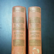 Libros de segunda mano: HISTORIA DEL MUNDO EL DESARROLLO DE LA CIVILIZACIÓN OCCIDENTAL. TOMO I Y II. Lote 131503709