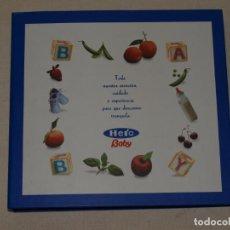 Libros de segunda mano: EL LIBRO DE ( NOMBRE DEL BEBE). HERO BABY. 22,5 X 21 CM.VER FOTOS Y DESCRIPCION. Lote 131564206