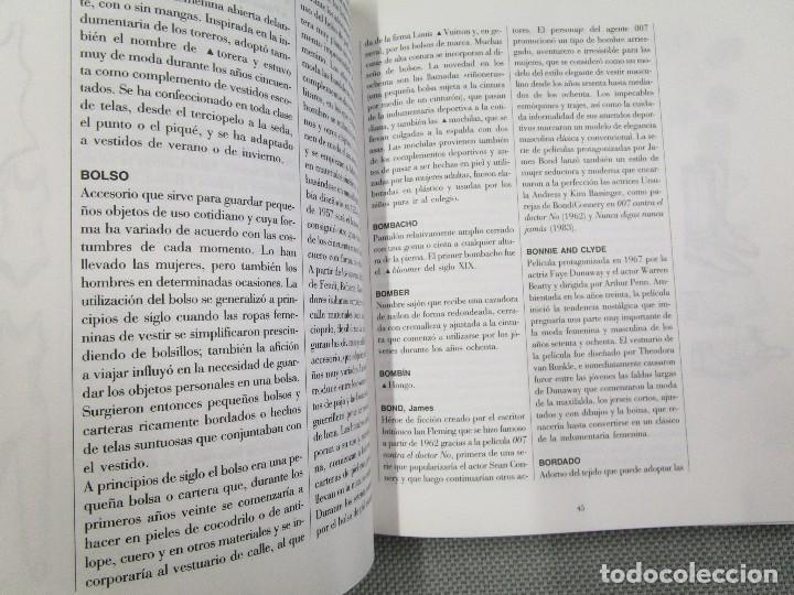 Libros de segunda mano: DICCIONARIO DE LA MODA. LOS ESTILOS DEL SIGLO XX - MARGARITA RIVIERE, ANTONIO MIRO ED. GRIJALBO 1996 - Foto 4 - 131597722