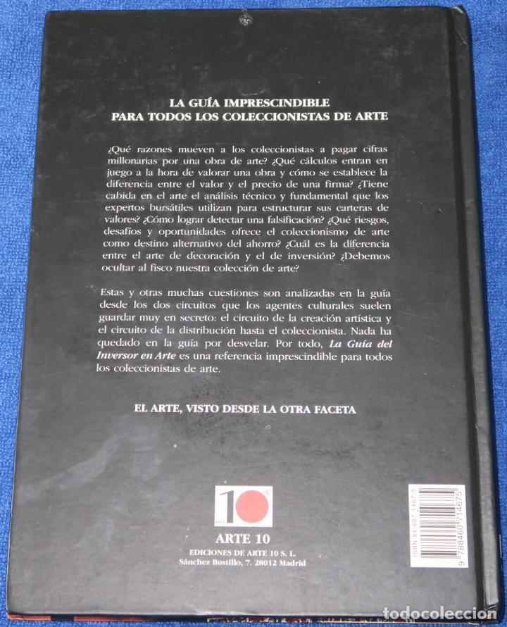 Libros de segunda mano: La guía del inversor en arte - Fernando Díez Prieto - Arte 10 (2000) - Foto 4 - 131599966