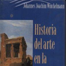 Libros de segunda mano: HISTORIA DEL ARTE EN LA ANTIGÜEDAD. Lote 131620719