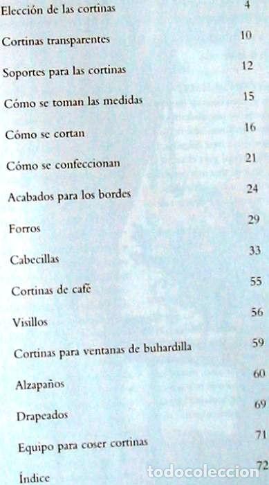 Libros de segunda mano: CÓMO HACER SUS PROPIAS CORTINAS - JENNIFER CAMPBELL - ED. KONEMANN 1998 - VER INDICE - Foto 2 - 131684346