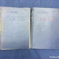 Libros de segunda mano: CAMINOS JOSE LUIS ESCARIO 2 VOL 1949 ESCUELA ESPECIAL DE INGENIEROS DE CAMINOS CANALES Y PUERTOS.. Lote 131701290