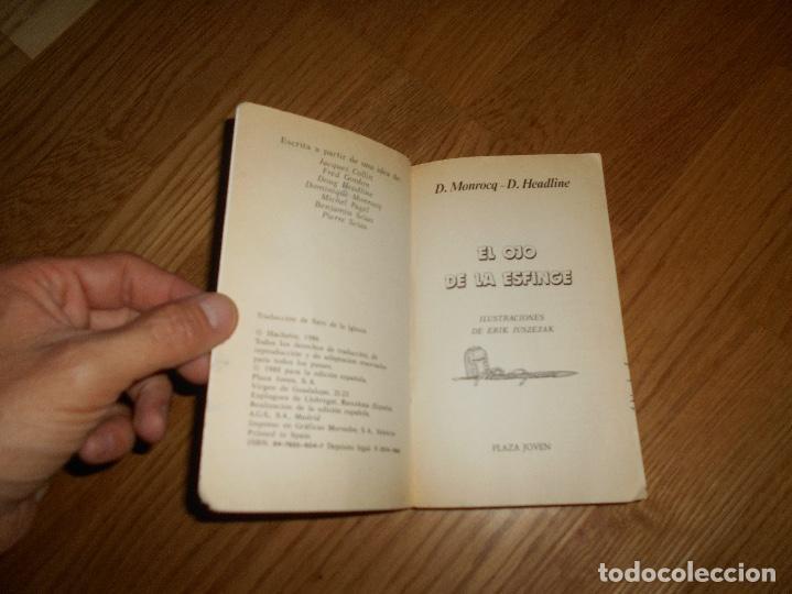 Libros de segunda mano: EL OJO DE LA ESFINGE - LA SAGA DEL CRUZADO N°2 - PLAZA JOVEN - Foto 2 - 131737030