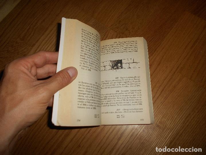Libros de segunda mano: EL OJO DE LA ESFINGE - LA SAGA DEL CRUZADO N°2 - PLAZA JOVEN - Foto 3 - 131737030