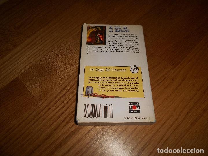 Libros de segunda mano: EL OJO DE LA ESFINGE - LA SAGA DEL CRUZADO N°2 - PLAZA JOVEN - Foto 6 - 131737030