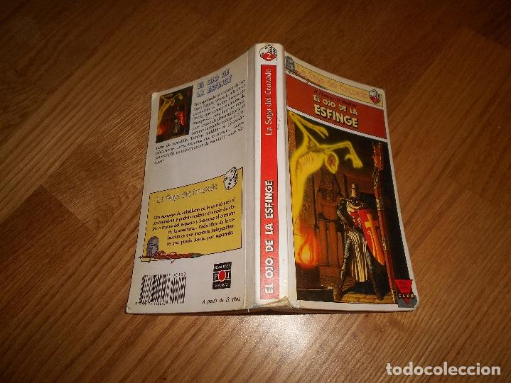Libros de segunda mano: EL OJO DE LA ESFINGE - LA SAGA DEL CRUZADO N°2 - PLAZA JOVEN - Foto 7 - 131737030